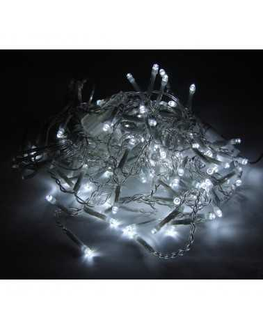LED Garland Curtain 31V 3M IP44 100 TRANSPARENT LED (Garland only)