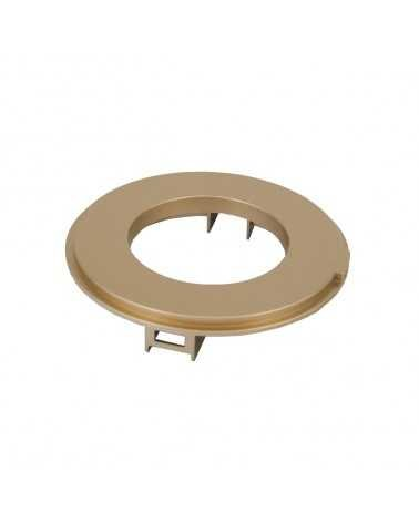 GOLD Spot Frame for LED Track Spotlight 12W 38 ° Single phase