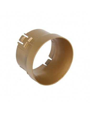 GOLD Spot Frame for LED Track Spotlight 6W 38 ° Single phase