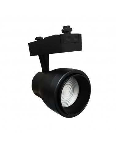 LED Track Spotlight 30W Multi-angle COB Single-phase BLACK