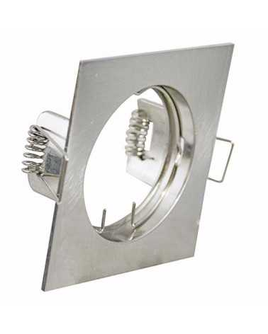 Stainless steel adjustable square spot support