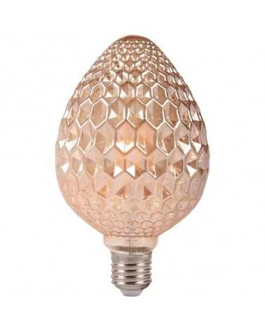 E27 LED bulb Dimmable Filament 6W Amber Diamond