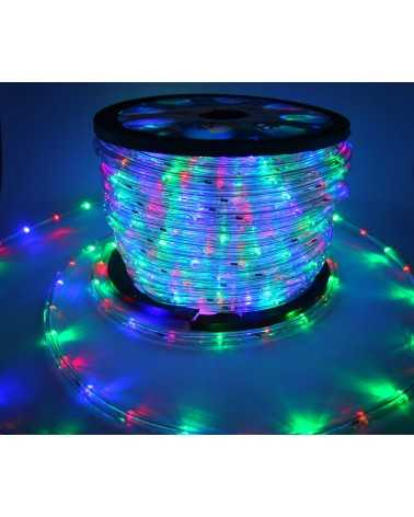 Guirlande LED Multicouleur 220V 50M IP65 Recoupable