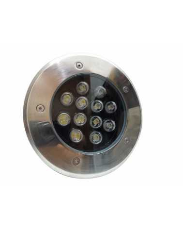 Outdoor Recessed Floor Spot LED 12W IP65 60 °