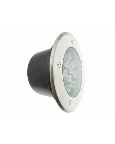 Outdoor Recessed Floor Spot LED 18W IP65 60 °