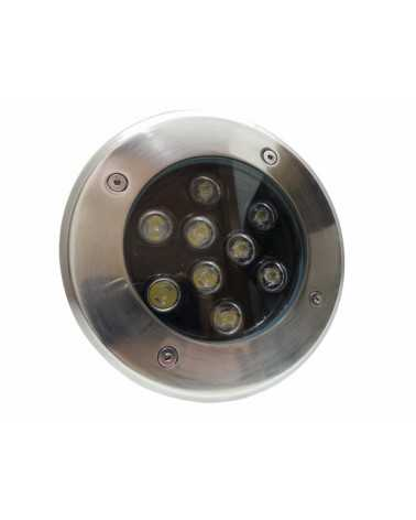 Outdoor Recessed Floor LED 9W IP65 60 °