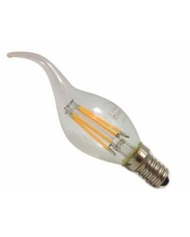 Ampoule E14 LED Flamme Filament 6W 220V 360°