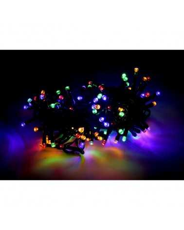 Guirlande LED Multicolore 220V 5M IP44 100 LED