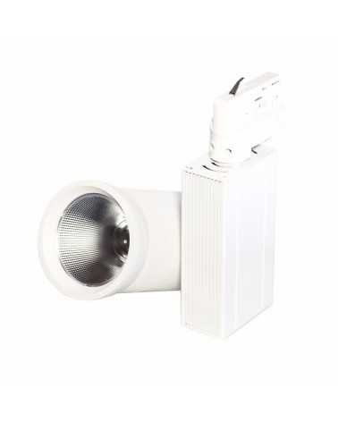 LED Track Spotlight 35W 80 ° COB Three-phase WHITE