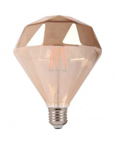 Ampoule E27 LED Dimmable 6W Ambrée Originale
