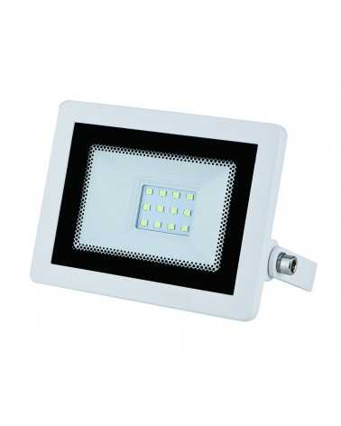 10W LED Floodlight Outdoor IP65 Flat White