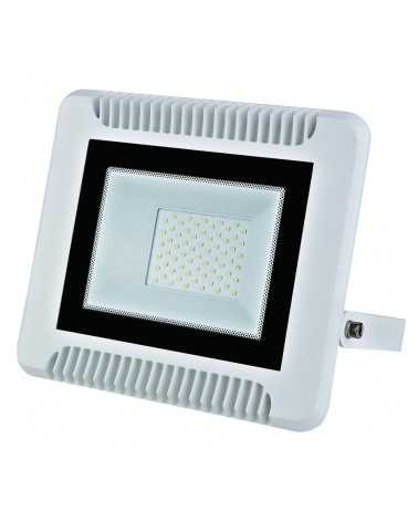 70W LED Floodlight Outdoor IP65 Flat WHITE
