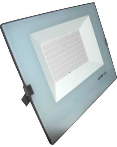 Outdoor LED Floodlight 100W IP65 - BLUE GRAY