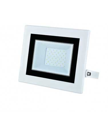 Outdoor LED Floodlight 50W IP65 Flat WHITE