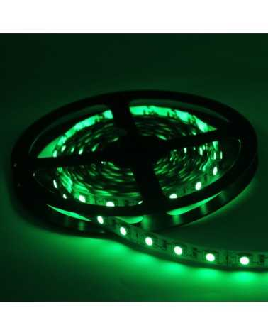 LED strip 12V 5M 5050 GREEN IP20 60LED / m
