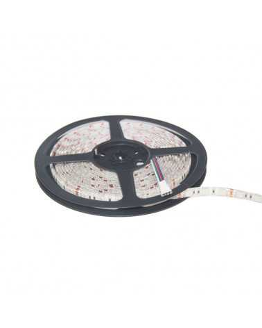 Bandeau LED RGB 12V 5M 5050 IP44 60LED/m