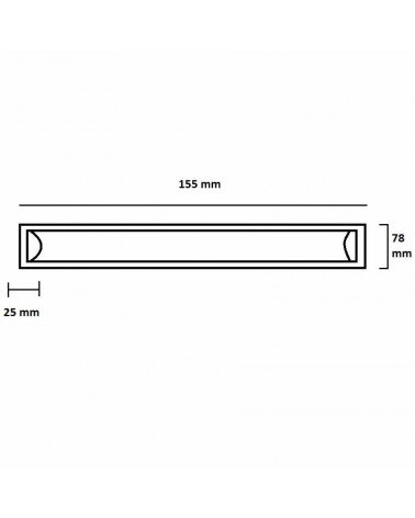 LED strip 150cm 48W