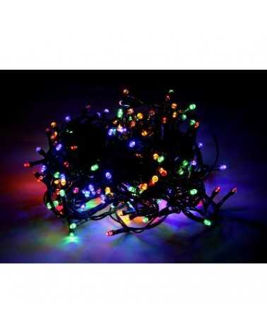 Multicolored LED string light 220V 12M IP44 240LED