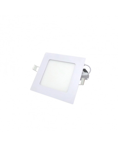 LED Panel Downlight 6W Extra Flat Square WHITE