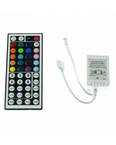 RGB Controller + LED Remote Control 44 commands for 12V LED Strip