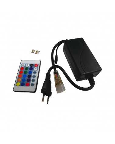 RGB Controller + Power Supply for 220V RGB LED Strip