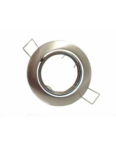 Round Adjustable Spot Support INOX