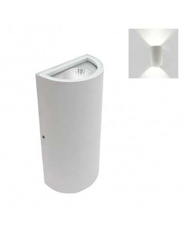 Wall light LED Double Beams 10W IP44 WHITE