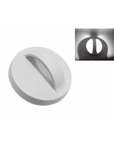 Round LED Wall Light 7W IP44 WHITE