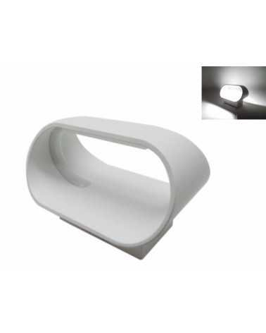 Applique Murale LED Design 5W IP44 BLANC