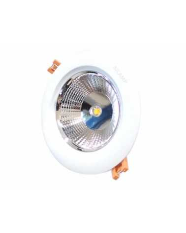 Round Recessed Spot LED COB 15W 80 °