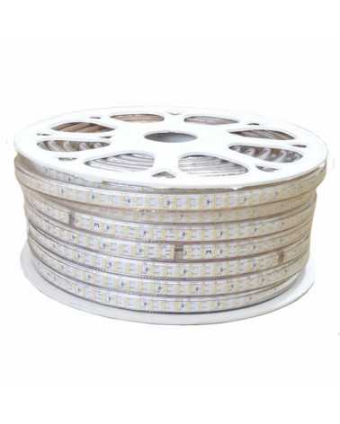 Bandeau LED 220V Recoupable 50M Double Rangée IP65 2835 180LED/m