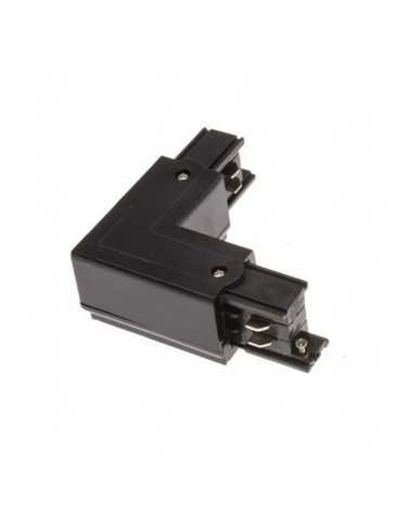 Angular Connector Three-phase Rail BLACK