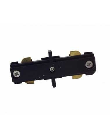 BLACK Linear Single Phase Rail Connector