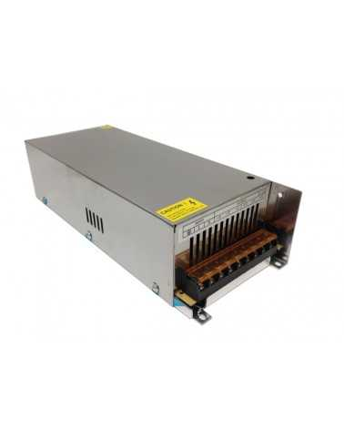 Transformateur 220V 12V 400W IP20 DC 33A