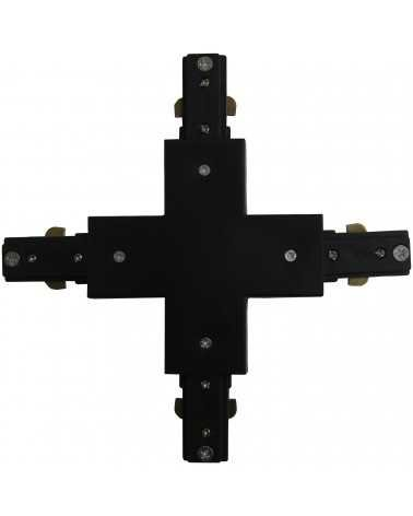 Connector X Rail Single phase BLACK