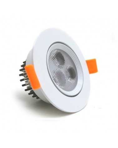 LED Downlight Recessed 3W 80 ° Adjustable