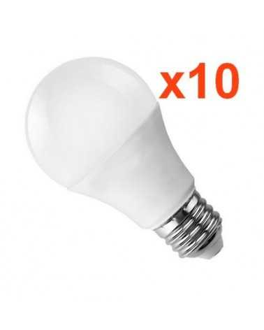 Ampoule LED E27 18W 220V A80 (Pack de 10)