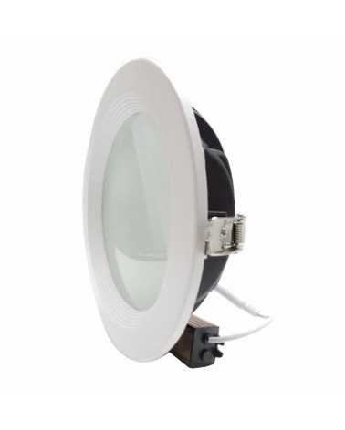 Downlight Rond Blanc Opale 30W Ø227mm