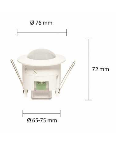360 ° Motion Detector up to 6M