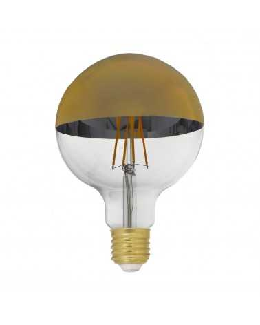 E27 LED bulb Dimmable 8W G95 Globe Gold Reflection