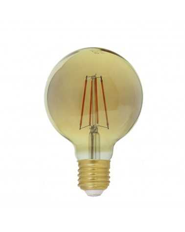 Ampoule E27 LED Filament Dimmable 6W G80 Globe