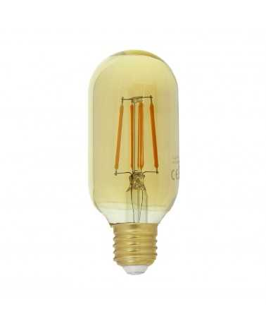 E27 LED Filament Dimmable 4W T45 Tube bulb - linear