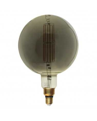 E27 LED bulb Dimmable 8W G200 Globe XL SMOKE