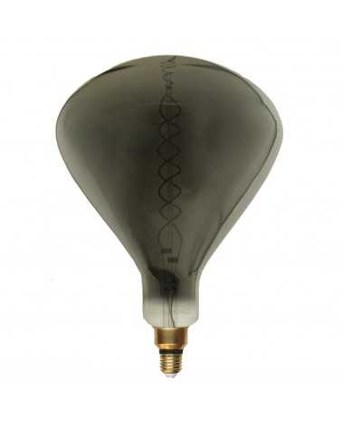 Ampoule E27 LED Filament Dimmable 8W R250 SMOKE