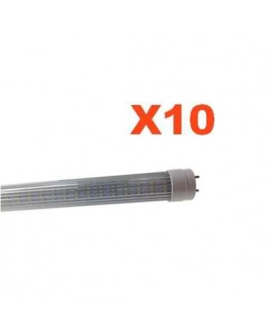 Tube Néon LED 120cm T8 20W (Pack de 10)