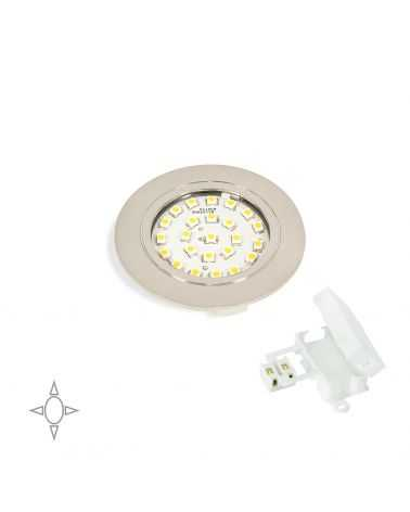 Spot LED encastrable 1.8W Ø65 mm ROND Peint en Aluminium