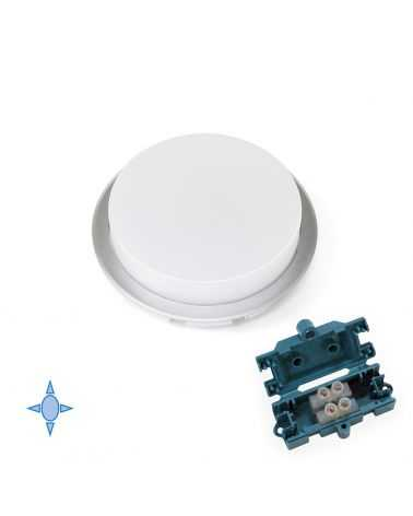 Spot LED semi-encastré 3.8W Ø85 mm ROND