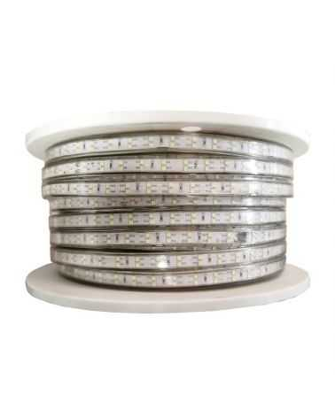 Bandeau LED 220V Recoupable 50M IP65 2835 120LED/m Double Rangée