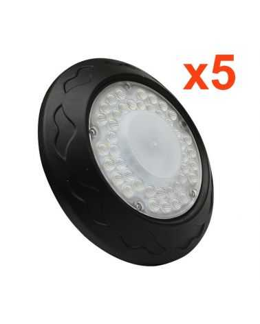 Cloche Industrielle 100W LED UFO (Pack de 5)