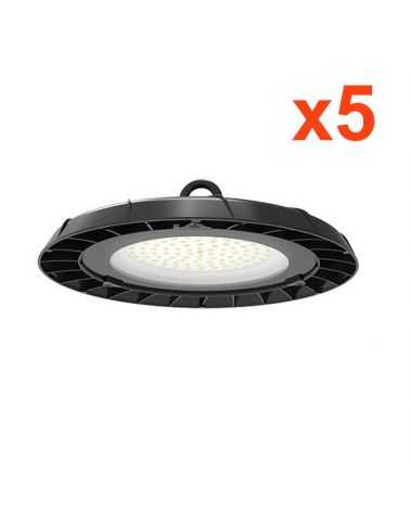 Cloche Highbay Industrielle UFO 90° 200W (Pack de 5)